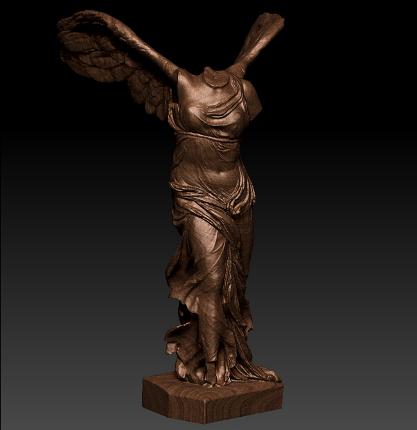 New Model!!! 3D Model For Cnc Or 3D Printers In STL File Format Victory Angel