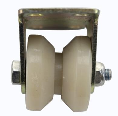 4Pieces Lot Wheel D 50mm 2inch V Groove Nylon Mute Sliding Door Pulley Door Bearing Steel Rail Wheels in Pulleys from Home Improvement