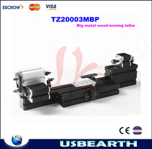mini big metal wood-turning lathe machine TZ20003MBP