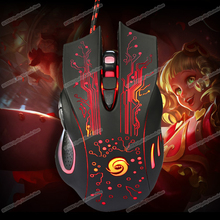 LED Optical USB Wired Gaming Mouse Mice For PC Laptop Pro Gamer#High Quality#Q1FC