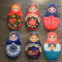 (5 pieces a lot)Creative Russia set baby refrigerator