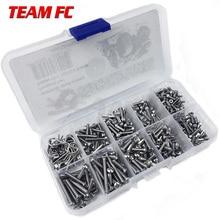 Kit di strumenti per la riparazione della scatola di viti in acciaio inossidabile per viti per auto RC per accessori TRX4 S146