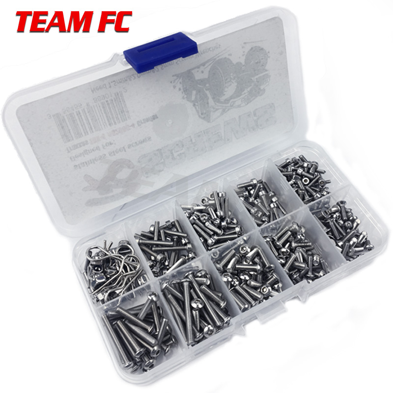 RC Car Screw Stainless Steel Screws Box Repair Tool Kit For TRX4  Accessories S146