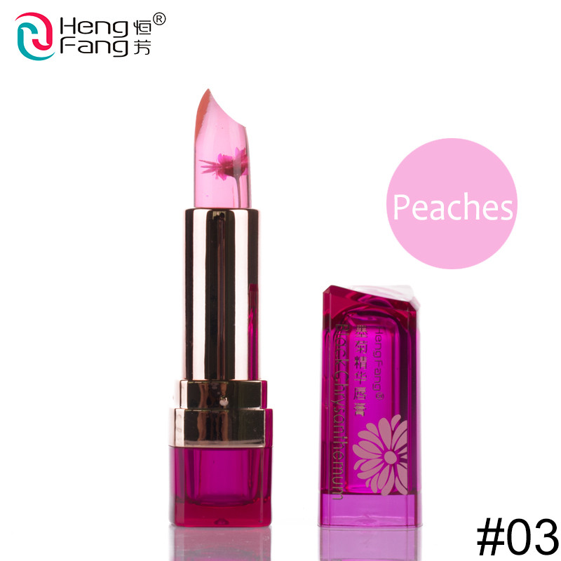 Temperature-changed Lipstick Lip Balm 7 Colors Lipbalm Nutritious Lips 3.5g Makeup Brand HengFang #H9223-H9266 3
