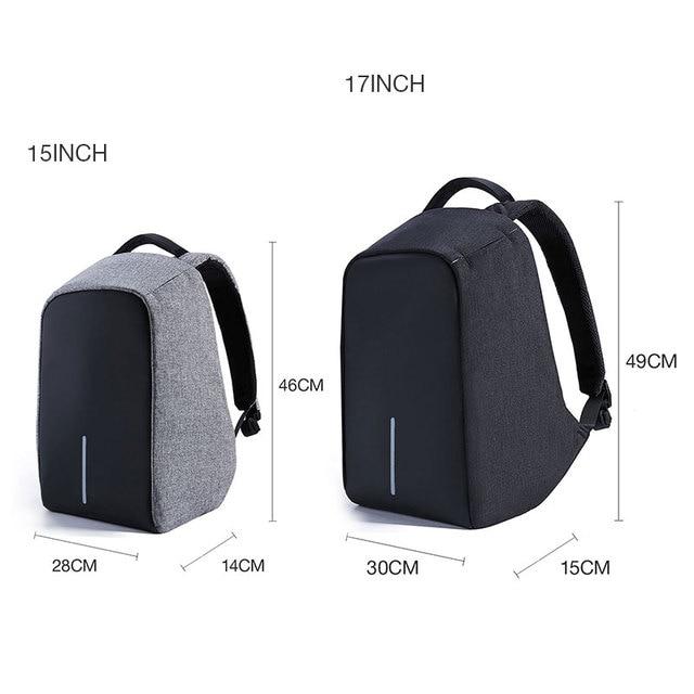 Kalidi 15 17 Inch Waterproof Laptop Bag Men Notebook School Bag 15 6