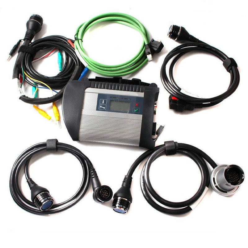 A+++ Quality Full Chip MB STAR C4 /Star C5 with HDD MB SD Connect Diagnostic Tool with WIFI Function for 12V&24V DHL Free - 5