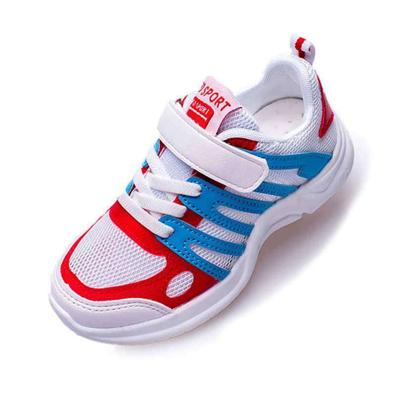QIUTEXIONG Spring Autumn Kids Sneakers Boys Shoes Mesh Breathable Sport Running Children Shoes Outdoor School Student Footwear