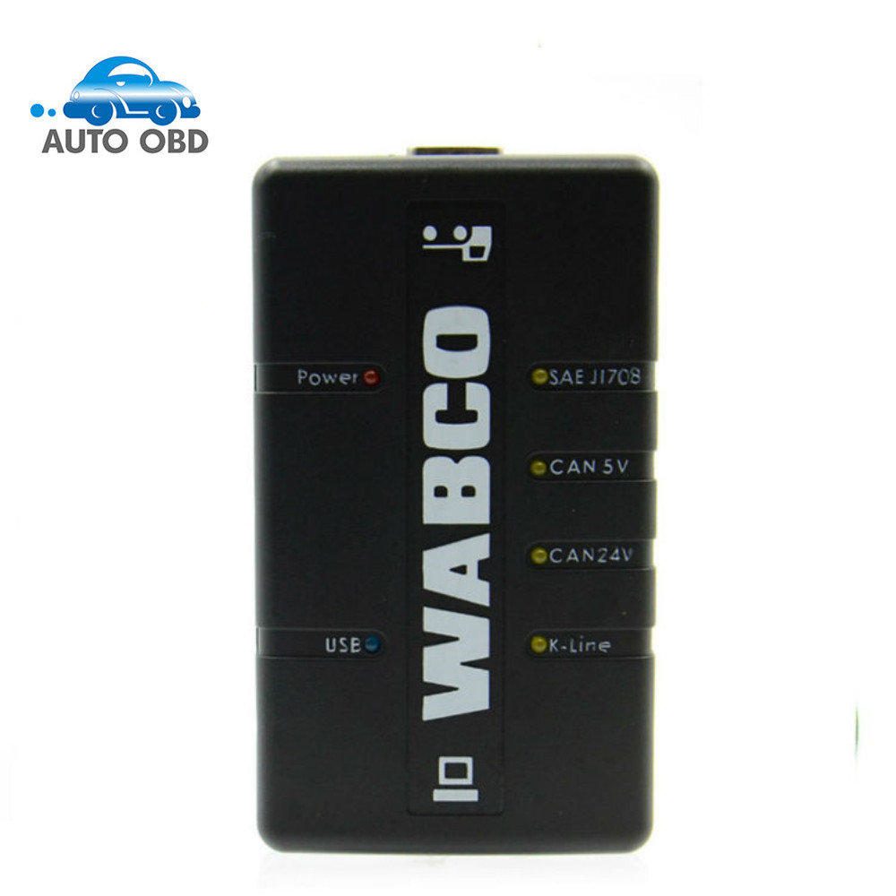 2017 New Arrived stock WABCO DIAGNOSTIC KIT (WDI) WABCO Trailer and Truck Diagnostic Interface with free shipping