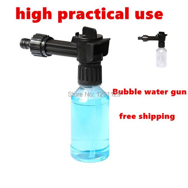 Multifuncional de lavar carro espuma pistola de água pistola de lavagem de carro de alta pressão máquina de lavar carro dispositivo
