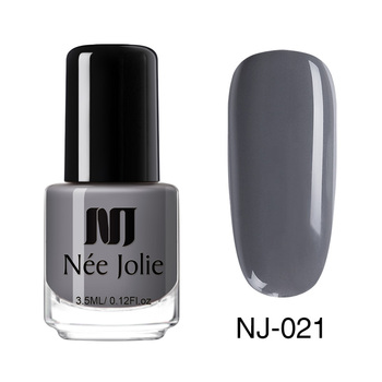 Coffee Gray Red Series Nail Art Polish Beauty & Skin Care Nail Art Color: 3.5ml NJ021