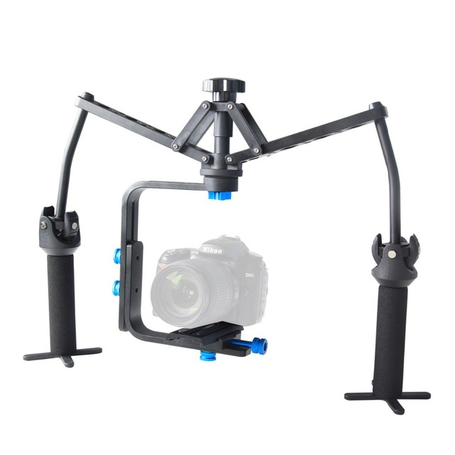 YELANGU Alu Alloy Joint Bearing Portable Handheld Mechanical Stabilizer For Canon Nikon Sony DSLR Camera Digital Video