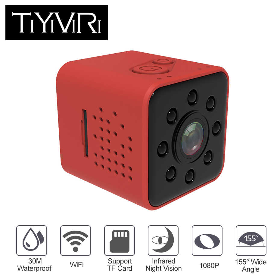 TiYiViRi SQ23 Mini Camera Hd Wifi Sport Cam Full HD 1080P Night Vision Mini Camcorder DVR Video Cam Recorder Camera Pk SQ13 SQ11