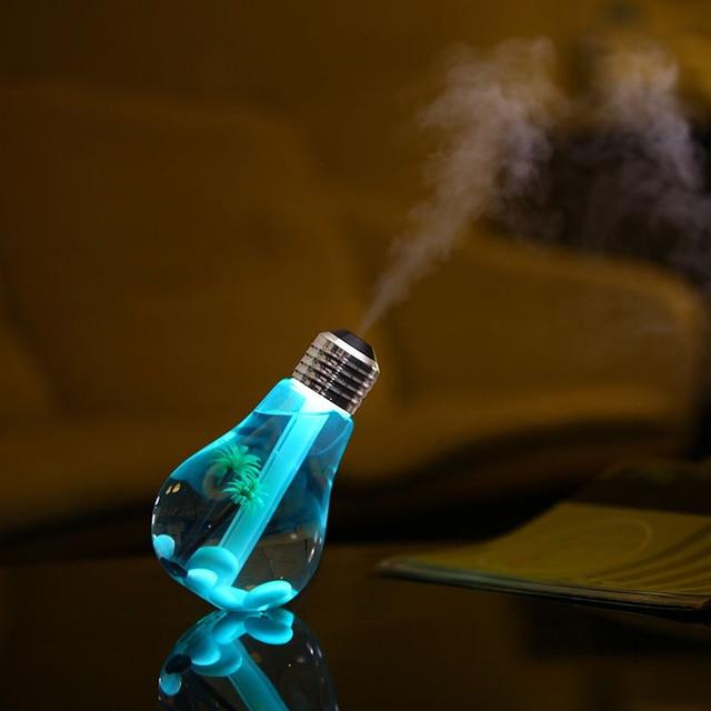 7 Colors Night Light Air Ultrasonic Humidifier 3