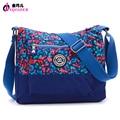 JINQIAOER Fashion Camouflage Nylon Messenger Bag High Quality Waterproof  Women Shoulder Bag Bolsa Ladies Travel Bag Satchels
