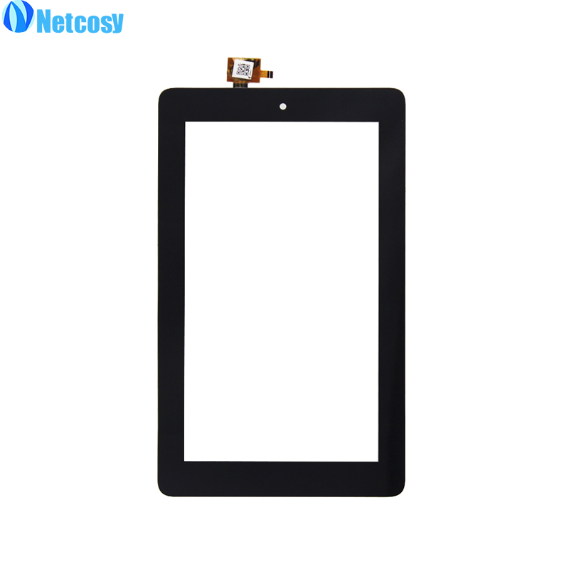 Netcosy Сенсорный экран планшета спереди touch Панель Стекло объектив для Amazon Kindle Fire 7 2015 HD5 HD 5 touch Экран Замена