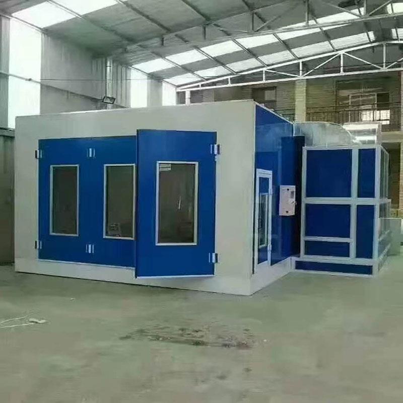 Cabina de pintura habitación para productos de madera sala de pintura