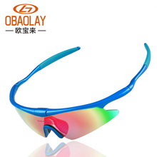OBAOLAY New UV400 Cycling Glasses Outdoor Sports Bicycle Bike Sunglasses gafas bicicleta MTB Goggles Eyewear 5 Lens OBL0893