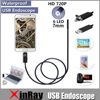 XinFly 2in1 Endoscope Micro USB Endoscope For Andriod Phone And PC With 7mm Dia 6LED 60