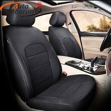AutoDecorun 16 шт./компл. сиденье из натуральной кожи чехлы для Subaru Outback 2014 2015 2016 2017 2018 аксессуары сиденье коврики для стола или пола