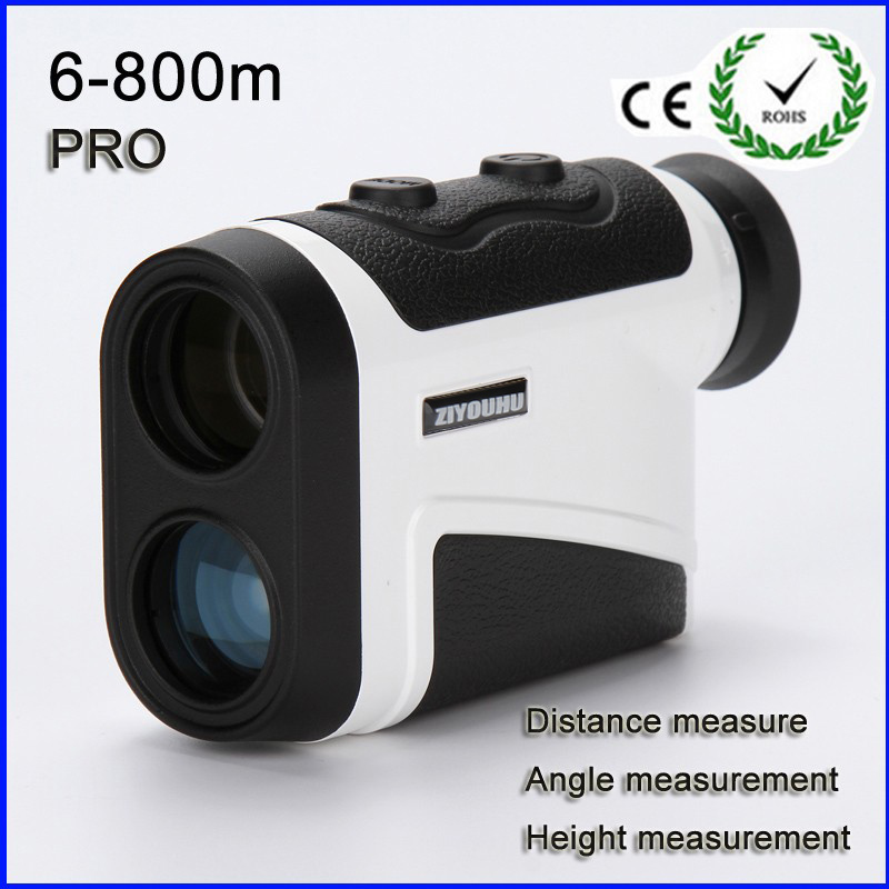 6x25 Hunting Monocular Telescope Golf Laser range Distance Meter Rangefinder 800m Range Finder with angle height measurement  цены