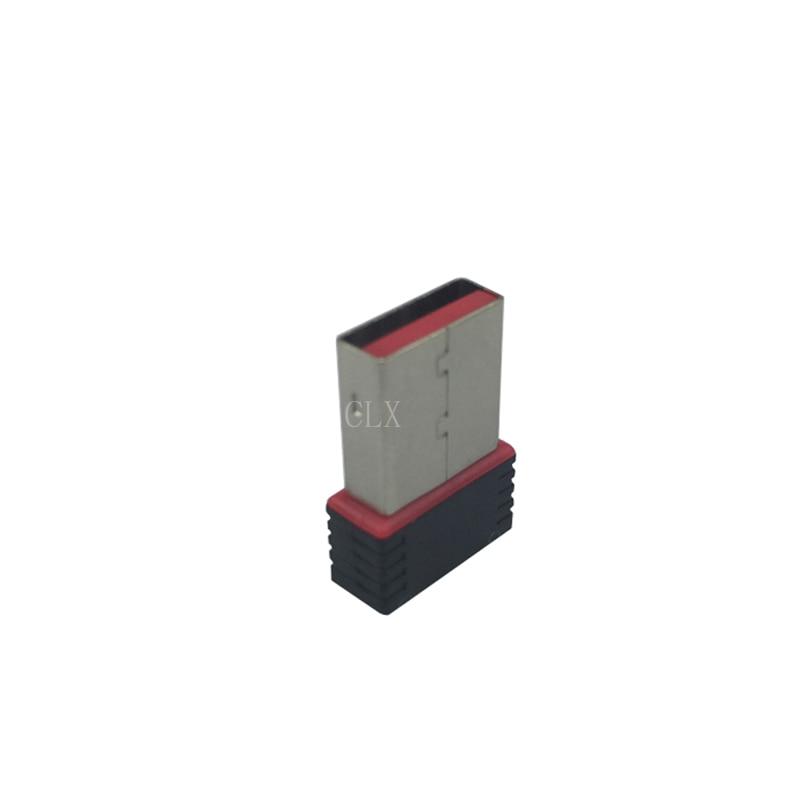 2.4Ghz Wireless Wifi Dongle 150Mbps USB 2.0 Network NANO Card Adapter For Raspberry Pi 3 2 PC For Raspberry Pi Orange Pi