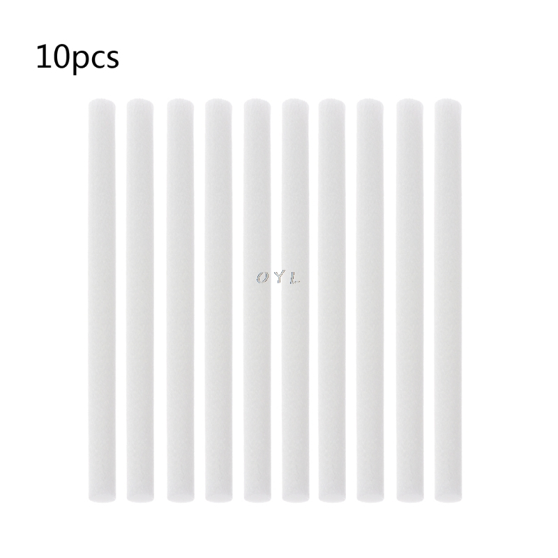 10Pcs Humidifiers Filters Cotton Swab Replacement For Humidifier Accessories Aroma Diffuser Cotton Sticks 7mmx115mm