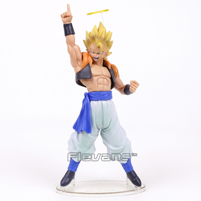 Dragon Ball Z Super Saiyan Gogeta PVC Figure Collectible Modelo Toy 22 cm