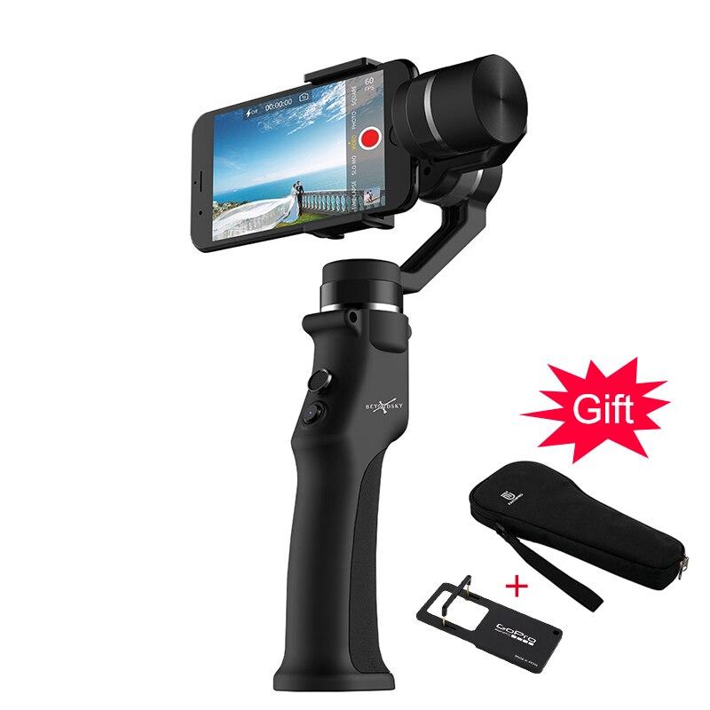 Eyemind Smartphone De Poche Cardan 3-Axe Stabilisateur Sac Gopro Plaque pour iPhone Xiaomi Samsung D'action Caméra VS Zhiyun Lisse Q