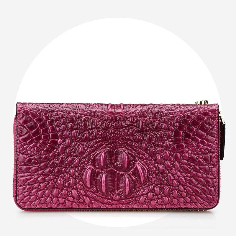 Portefeuille en cuir de vachette véritable pour femme avec poche à monnaie porte-carte vintage portefeuille pour téléphone