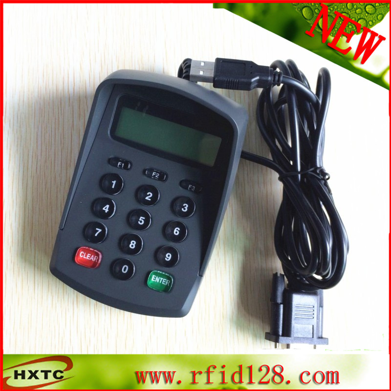 Factory price (RS232 + USB) 15Keys Digital LCD HXTC511DA E-Payment Security Acess Control Pinpad producte budget payment fill the postage price difference