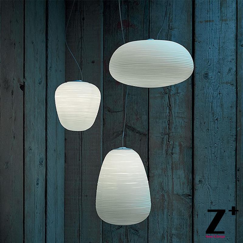 Replica Item Led Foscarini Rituals Sospensione Glass Lampshade Pendant Lights Modern lamp  Minimalism free shipping