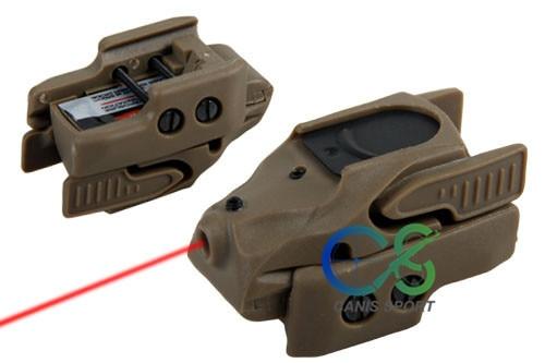 PPT New Arrival Mini Red Laser Sight ლაზერით - ნადირობა - ფოტო 4