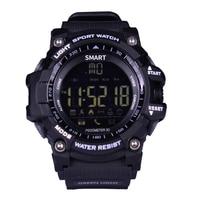 Reloj inteligente EX16 Xwatch Deportes Bluetooth 4.0 Smartwatch Pulsera 5ATM IP67 A Prueba de agua Reloj Cronómetro de largo tiempo de espera