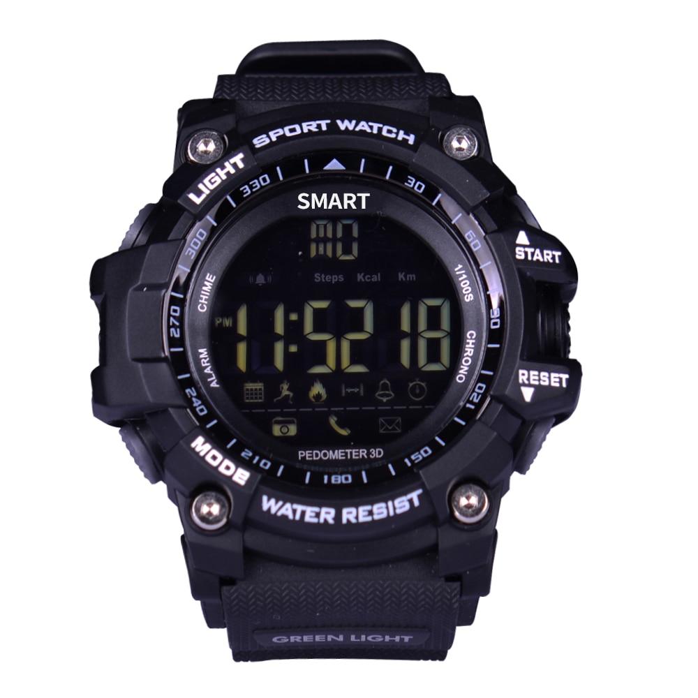 Smart Watch EX16 Xwatch Sport Bluetooth 4.0 5ATM IP67 Impermeabile Smartwatch Wristband Sveglia Cronometro molto tempo standby