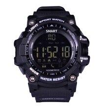 Smart watch ex16 xwatch deportes bluetooth 4.0 smartwatch pulsera 5atm ip67 a prueba de agua reloj cronómetro de largo tiempo de espera