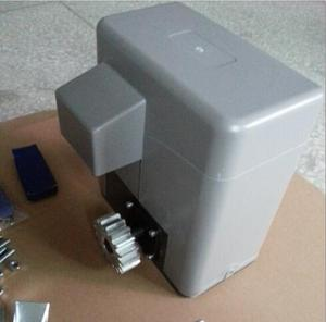 Image 2 - 600KGS Schiebe zugang tor motor Auto Nähe mit 2 Sender 4 m stahl racks 1 paar fotozelle