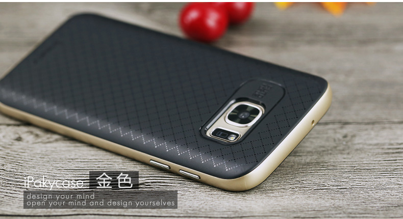the best attitude 834f6 58aa8 US $6.5 |Original iPaky Cover Case For Samsung Galaxy S7 Edge-in  Half-wrapped Case from Cellphones & Telecommunications on Aliexpress.com |  Alibaba ...