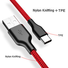 USB Type C Cable for Samsung S9/ Galaxy note9 Mobile Phone Fast Charging Huawei Type-C Devices