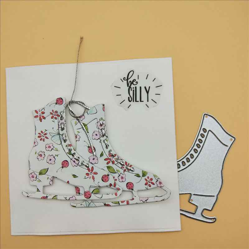 shoes stencil Metal Cutting Dies cut die decoration Scrapbooking Album Paper DIY Card Craft Embossing Die Cuts