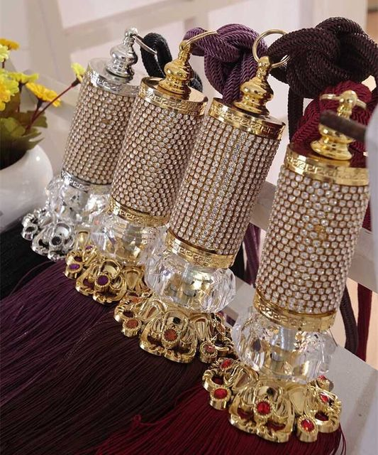 Home Decor Accessories: Europe Home Decor Curtain Hanging Ball Curtains Buckle