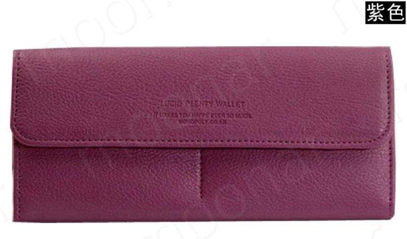 B489 women leather wallet purse (10)