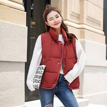 Brieuces Women Winter Warm Vest Thick Slim Two Sides Wear Female Autumn Jackets Waistcoat Velvet woman