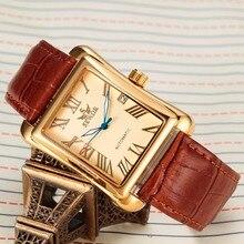 SEWOR SWQ10 ファッション腕時計 高級ブランド男性ゴールド腕時計カレンダー革時計ビジネス自動機械式自動風