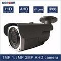 CCDCAM 24 stücke micro Array IR leds 40 mt IR abstand 1MP 1 3 MP 2MP high definition tag und nachtsicht AHD 2 8 12mm VF objektiv kamera-in Überwachungskameras aus Sicherheit und Schutz bei