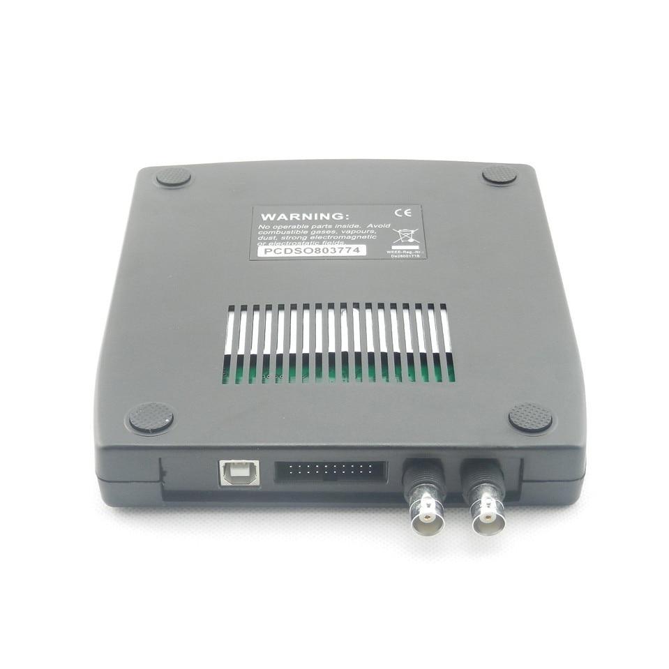 Hantek1008C 8 Channel PC Virtual automobile Oscilloscope/data acquisition card/ 8 channel programmable signal generator