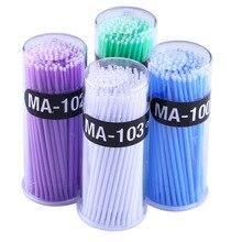 Brush Eyelash-Extension-Brush Mascara-Swab Applicator 4colors Micro Disposable Cotton