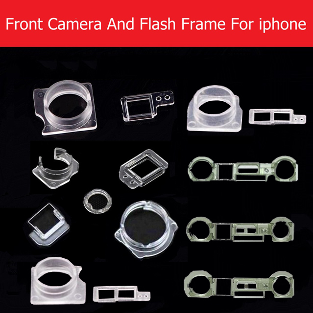 Proximity Light Sensor&Front Camera Plastic Holder For IPhone 4 4s 5s 5c 6 6s 7 8 Plus X XS MAX Front Camera Bracket Ring Parts