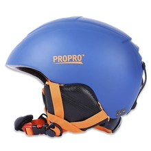 PROPRO All-in-one Skiing Helmet with Inner Adjustable Buckle Liner Cushion Layer Sports Safety Skiing Helmets  ABS Plastic
