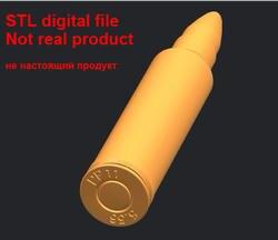 3D модель STL формат файла для гравировки с ЧПУ резьба печать пуля цифровой файл, не реальный продукт