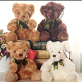 20cm Genuin Kawaii RUSS Teddy Bear Plush Toy 3 Colors Soft Bear with Tie Toy for Kids Wedding Dolls Kids toy